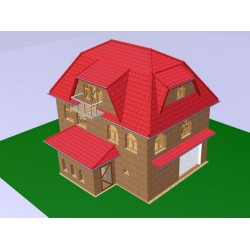 3D-модель будинку 3Ds