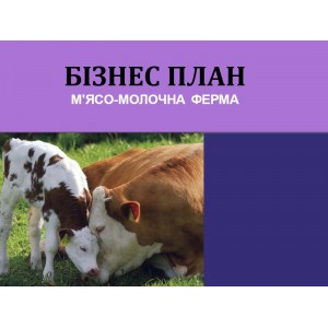 Бізнес-план М'ясо-молочна ферма, , 4,720.00 грн., BP010001, , Бізнес-плани