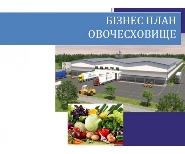 Бізнес-план Овочесховище